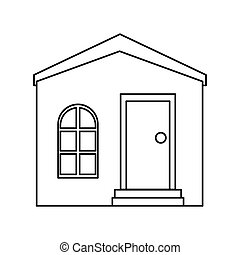 house private residence structure outline