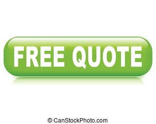 free quote button - Illustration of free quote button on...