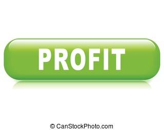 profit button on white background