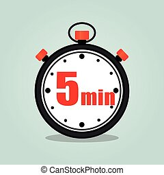 five minutes stopwatch