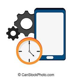 smartphone clock gear technology