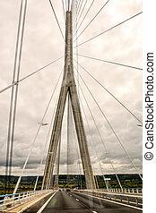Le Pont de Normandie Normandy Bridge - Photo Picture view of...