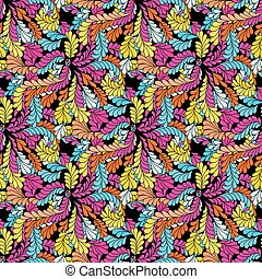 Abstract colored seamless pattern for your design