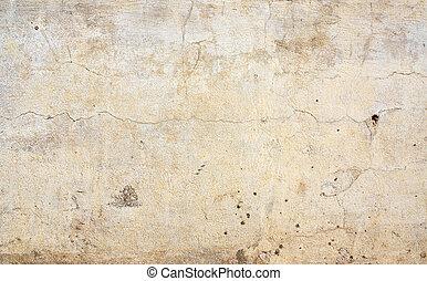 vieux, mur,  texture, couleur,  beige, stuc