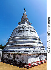 Ancient stupa, Dagoba in Polonnaruwa (Sri Lanka)