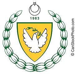 Turkish Northern Cyprus Coat of Arms