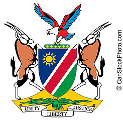 Namibia Coat of Arms - Namibia coat of arms, seal or...