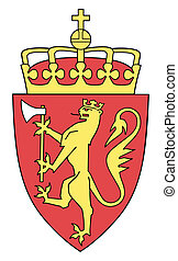Norway Coat of Arms - Norway coat of arms, seal or national...