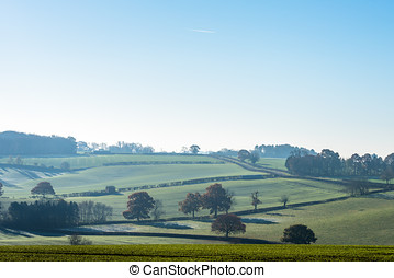 Countryside Lanscape View in United Kingdom