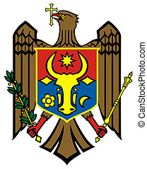 Moldova Coat of Arms - Moldova coat of arms, seal or...