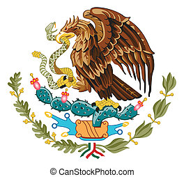 Mexico Coat of Arms - Mexico coat of arms, seal or national...