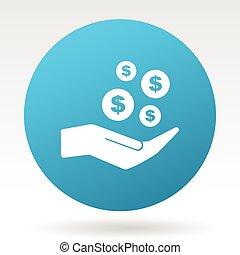 Save money vector icon.