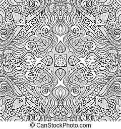 Abstract vector ethnic sketchy background - Abstract vector...