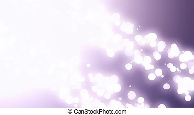 Bokeh Particles With Flare Diagonal Double
