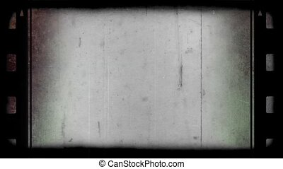 Simple Old Photographic Film Look With Sides - Old...