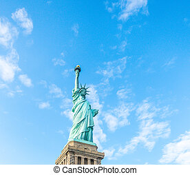 Statue of Liberty, New York City , USA .