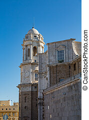 Classic Portugese Architecture - An old classic tower in...