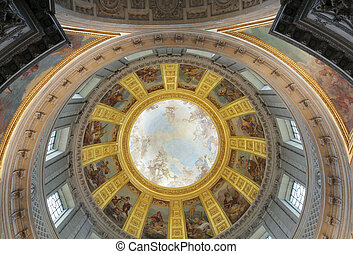 Napoleon's Tomb - The dome of Napoleon's Tomb. Les...
