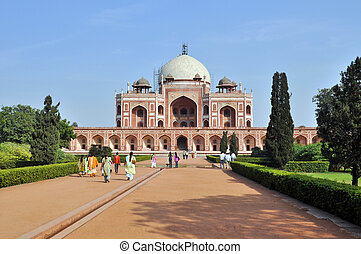 Humayun Tomb, India. - Humayun Tomb in New Delhi during the...