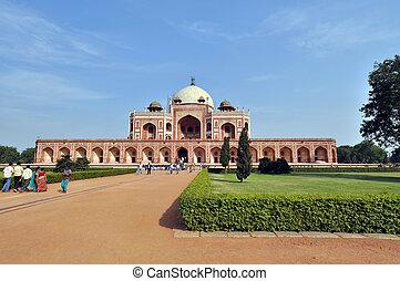 Humayun Tomb, India. - Humayun Tomb in New Delhi during the...