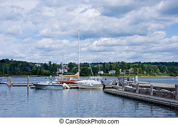 Belfast, Maine - Coastal town of Belfast, Maine