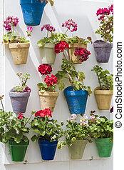 tiestos - Tiestos de flores en patios interiores