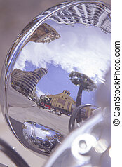 Reflections of Callao - Reflections of the square of Callao...