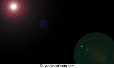Lens Flare Diagonal 002