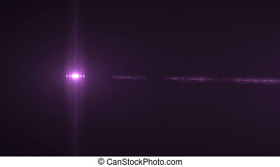 Light Stripe Flare Horizontal 181