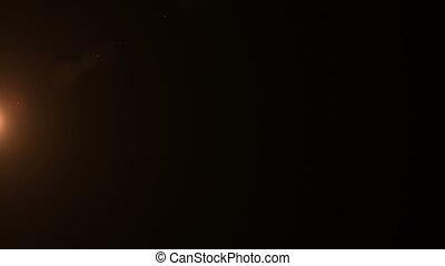 Golden Lens Flare 037
