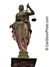 Lady Justice 1 - Lady Justice - Justitia - is a...