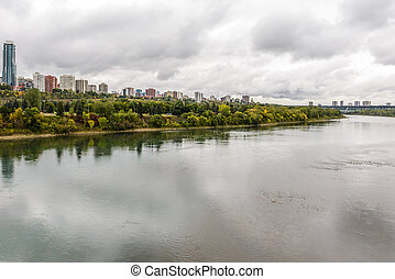 Edmonton from the River - View at Edmonton from the River