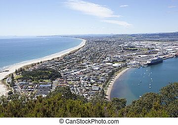 New Zealand's Resort Town - The view from the top pf the...