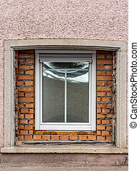 replace haussanierung window - in an old residential...