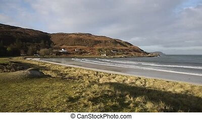 Calgary Bay Isle of Mull Argyll and Bute Scotland uk...