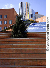 Modern architecture - Modern building of the MIT in...