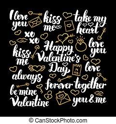 Valentines Day Calligraphy Design