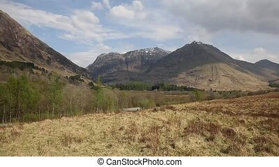 Glencoe Scotland UK stunning beautiful Scottish glen and...