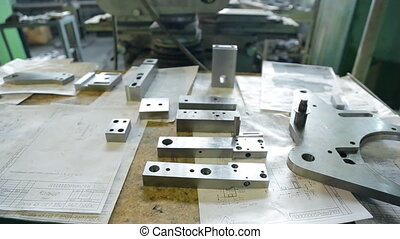Parts machined reamed prepared to replace manufacturing...