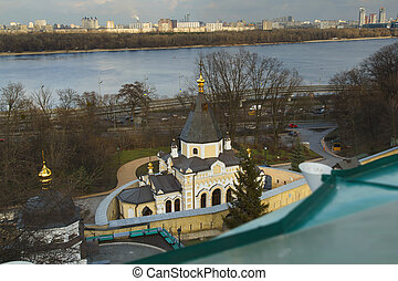 Bell tower. Kiev-pechersk lavra