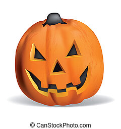 Pumpkin vector halloween smile orange october magic