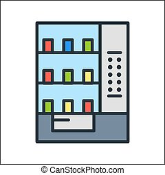 vending machine icon color
