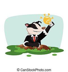 business honey badger finding innovation