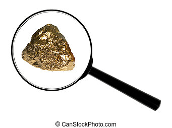 gold - Gold in its origin as gold nuggets.