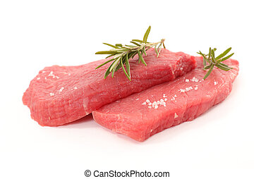 raw meat