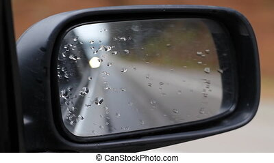 Car Side Mirror With Lights On It - Specifications: Full HD...