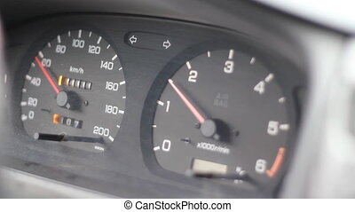 Car Dashboard Speedometer - Specifications: Full HD...