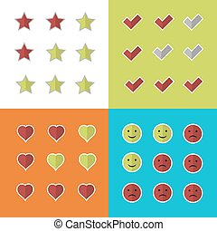 Consumer rating and satisfaction, clients feedback critique...