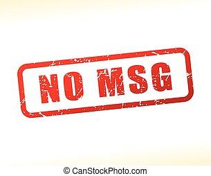 msg, texto, não,  buffered