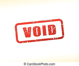 void text buffered - Illustration of void text buffered on...